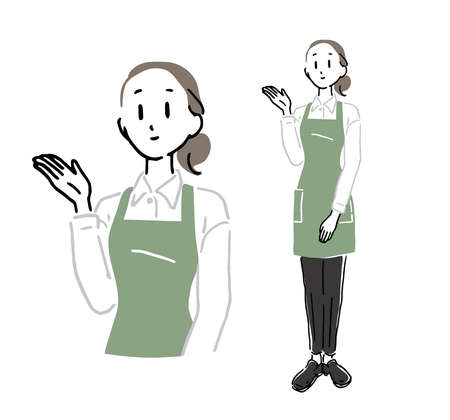 Female clerk to guide 1