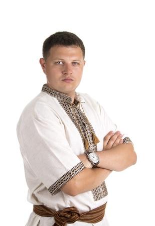An image of young ukrainian man looking at you