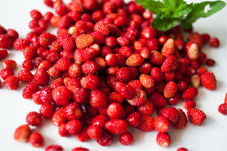 sappy: an image of ripe red strawberries