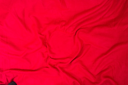 cotton velvet: an image of red fabric texture