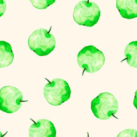 fresh sweet apple isolated Ilustração