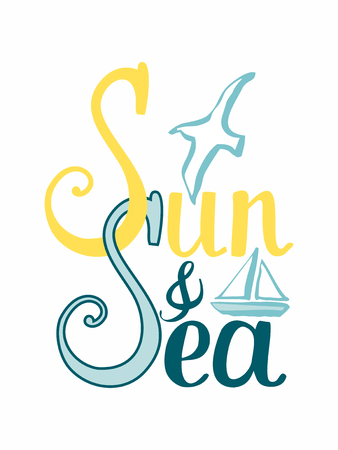 card-sun-and-sea-lettering