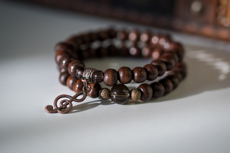 jewelle: Beautiful bracelets with gemtones and wooden beads.