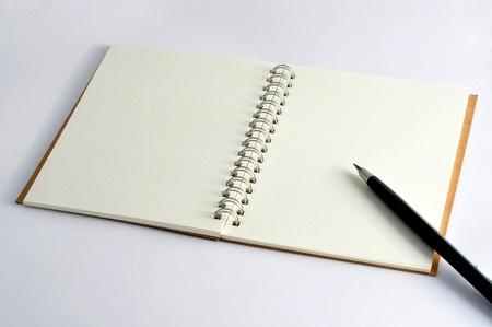 Blank Notebook photo