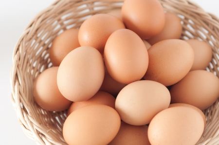 albumin: Eggs in the brown basket