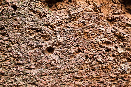redbrick: Laterite with crack at historical site background 03