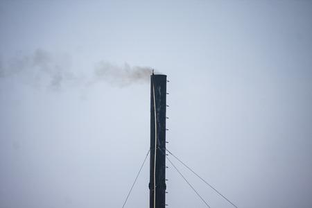 House chimney background sky
