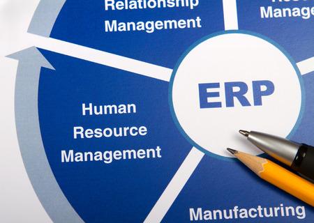 ERP 차트 스톡 콘텐츠