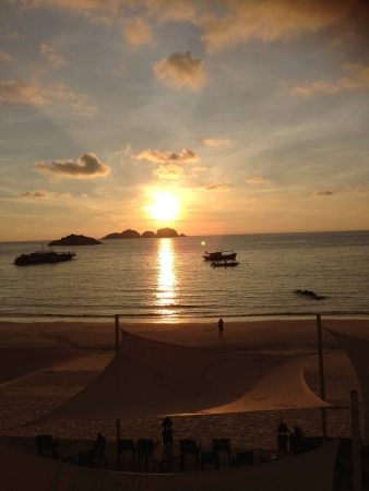 pulau: Sun Rise at Pulau Redang
