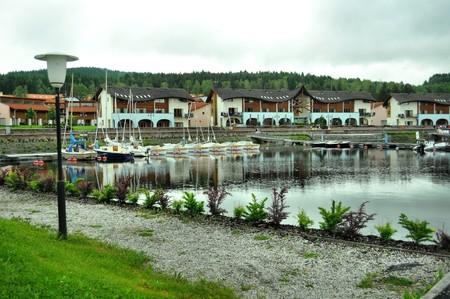 lipno: ships port in Lipno village