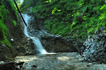 nice path through slovak paradise photo