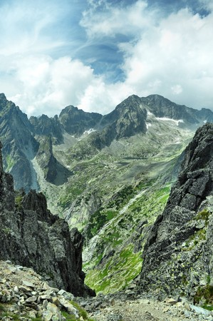 Hight tatras - nice mountains in Slovakia