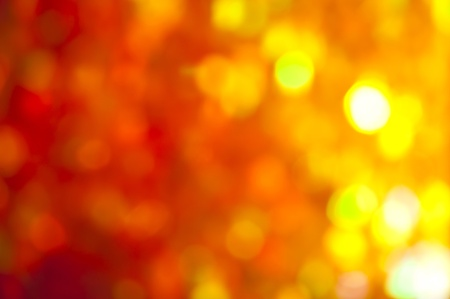yelow: abstract of yelow and red lights