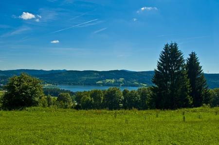 nice landscape on summery time photo