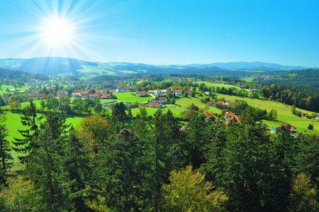 nice view on summery day Stock Photo - 11799343