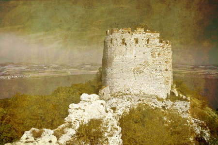 ruin - old papper texture Stock Photo - 17209764
