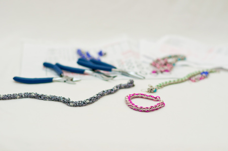 hand made set for chainmaille