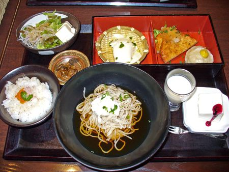 exclusively: This Japanese meal is almost exclusively made of Tofu (curdled soymilk).