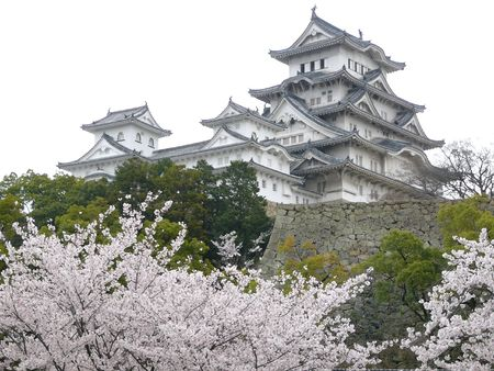 feudal: White Himeji Castle is probably the most beautiful of all Japanese Castles. Editorial