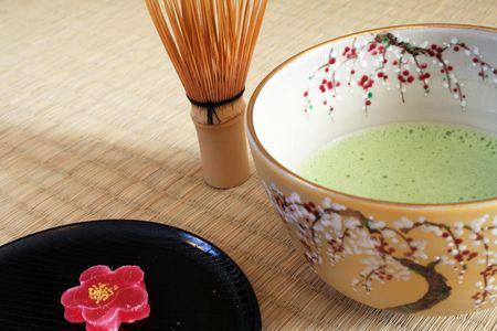 Japanses Tea Ceremony Stock Photo