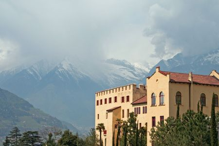 meran: Schloss Trautmannstein is a small palace in South Tyrol (Alto Adige) in Northern Italy near Merano.