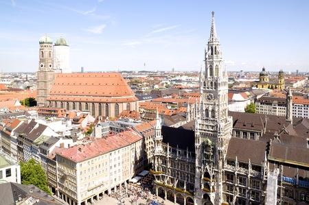 frauenkirche: Blick �ber M�nchen