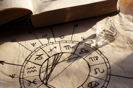 Old Horoscope, made by a witch ;-) photo
