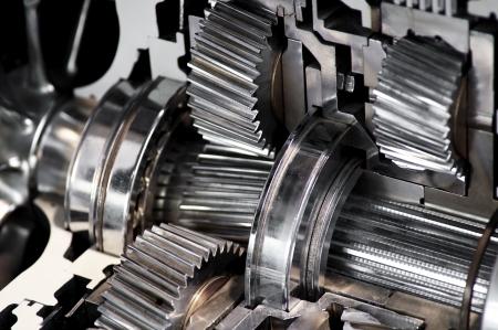 gearbox: Closeup of a car