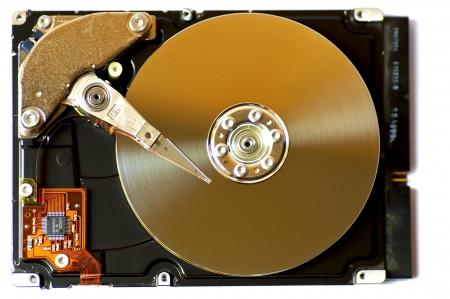 megabyte: Hard Disk with open lid