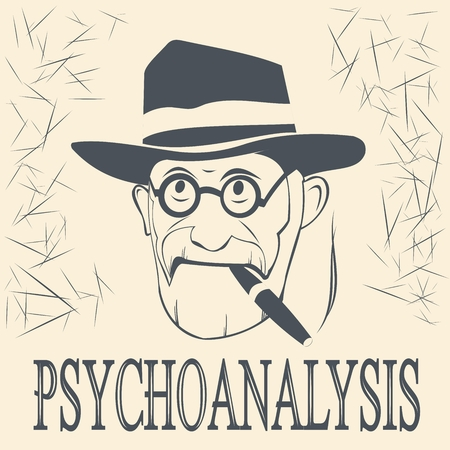 psychoanalyst and the inscription of the psychoanalyst Illustration