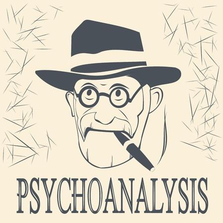 psychoanalyst and the inscription of the psychoanalyst Illustration