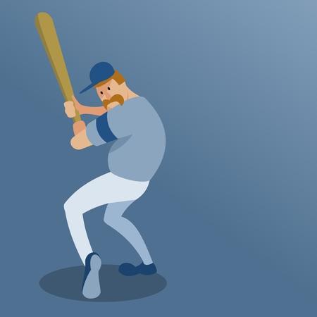 baseball player swinging a bat 스톡 콘텐츠 - 123172435