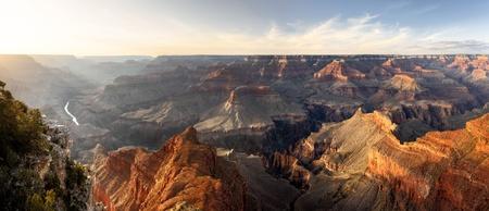 Grand Canyon,  Hopi Point,Sunset, Panorama