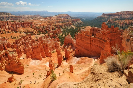 Navajo Loop Trail in Bryce Canyon National Park , Utah USA photo