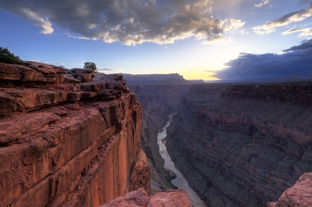 Sunrise at Toroweap Pointi n Grand Canyon National Park, AZ USA photo