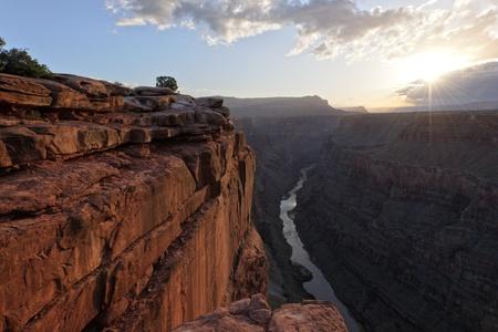 Sunrise at Toroweap Pointi n Grand Canyon National Park, AZ USA photo