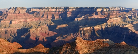 Morning-View of Grand Canyon from Navajo Point