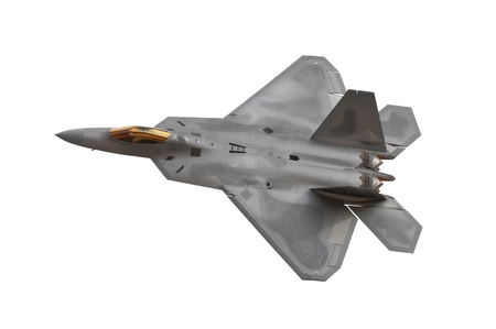 tactical: Advanced Tactical Fighter Stock Photo