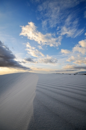 White Sands National Monument in New Mexico, USA Stock Photo - 13642094