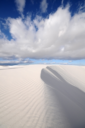 White Sands National Monument in New Mexico, USA photo