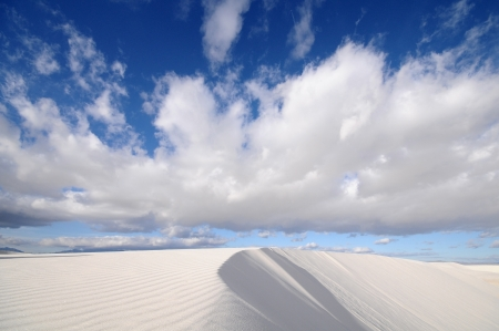 chihuahua desert: White Sands National Monument in New Mexico, USA