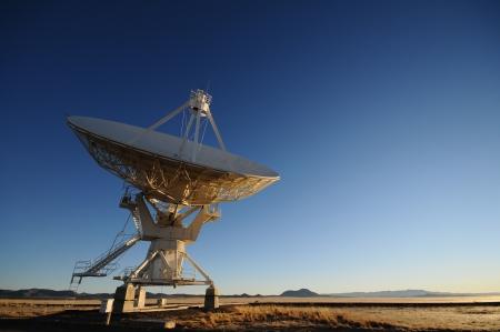 VLA radio telescope in New Mexico USA photo