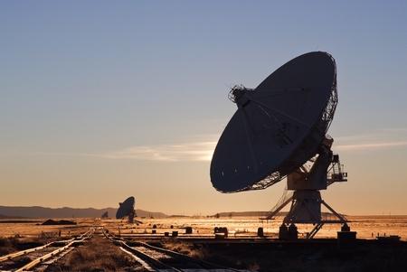 VLA radio telescope in New Mexico USA Stock Photo - 13699466