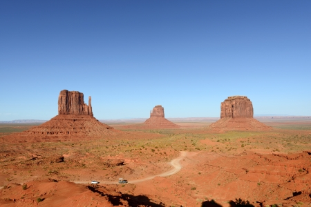 Monument Valley view from the visitor center Stock Photo - 13699508