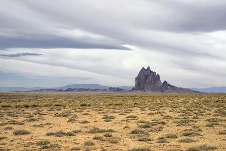 4 つのコーナーの近くの北西ニュー メキシコの Shiprock。