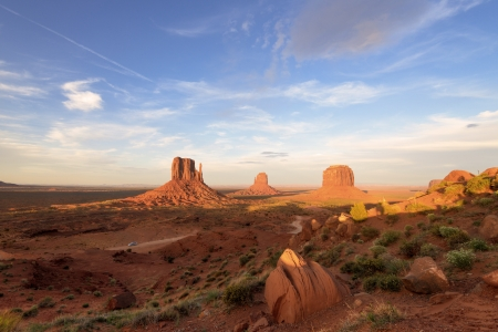 Monument Valley Navajo Tribal Park, in Navajo country USA photo