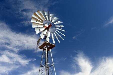 traditional windmill: Traditional Windmill in Arizona Desert