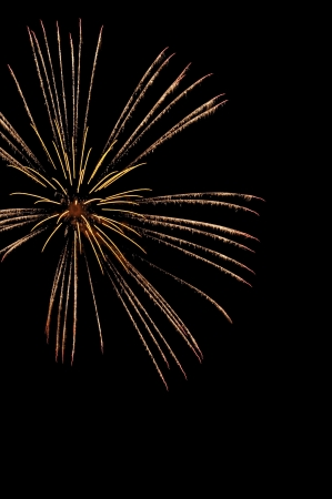 Fireworks, Long Exposure