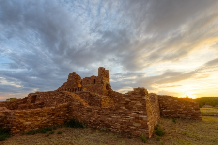 Abo Ruins in Salinas Pueblo National Monument