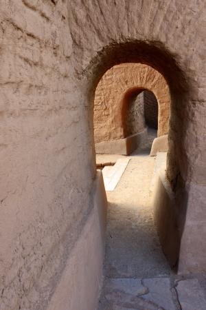 anasazi: Doorway, Pecos National Historic Park, NM.
